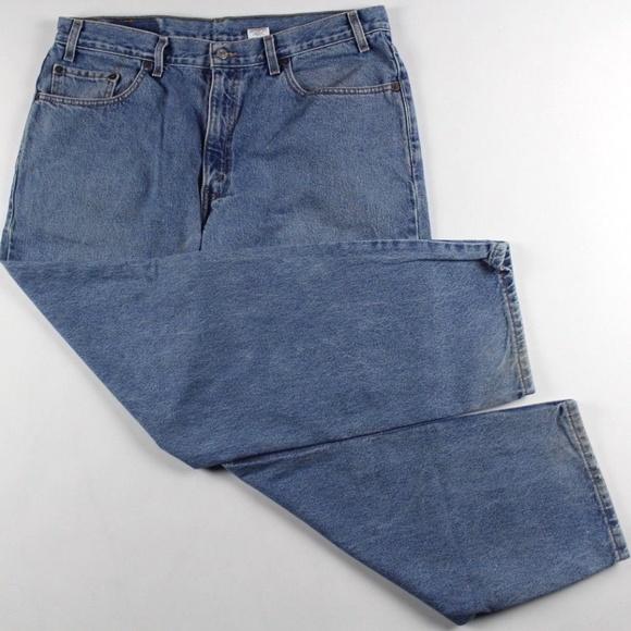 90955c9b4ce Levi's Jeans | Vintage 90s Levis Mens Leg Denim Pants Blue | Poshmark